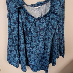 Floral madison skirt by lularoe size 2xl